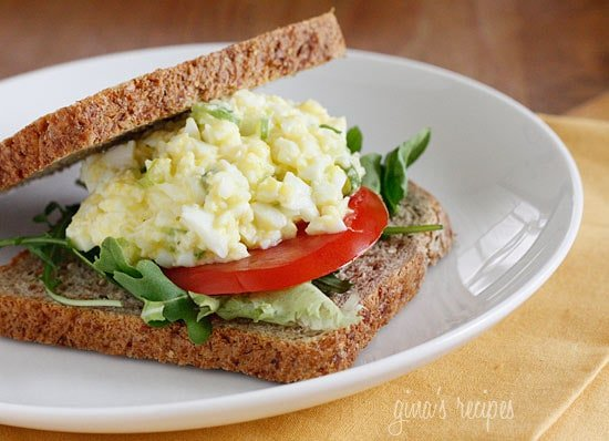Skinny Low-Yolk Egg Salad Recipe