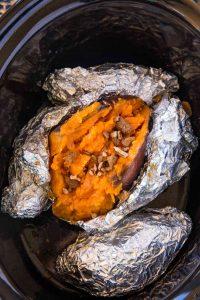 Slow Cooker Sweet Potatoes Recipe