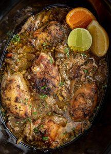 Slow Cooker Chicken Carnitas Recipe
