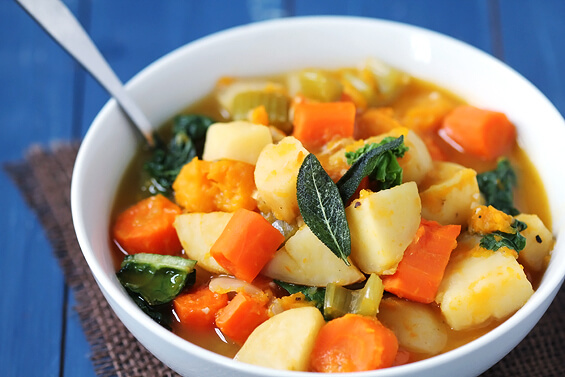 Slow Cooker Root Vegetable Stew Recipe