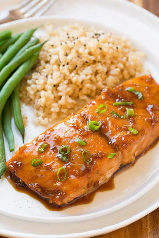 Soy-Maple Glazed Salmon Recipe