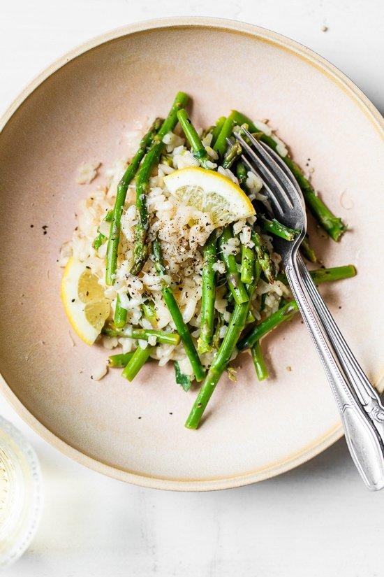 Spring Asparagus Risotto Recipe