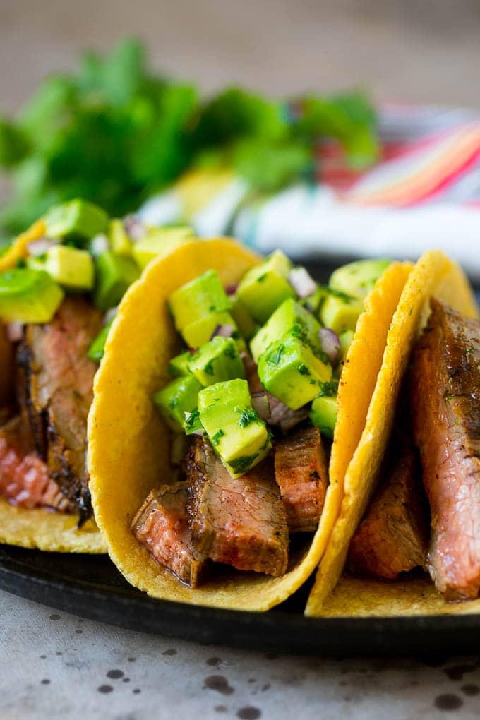 Easy Steak Tacos Recipe