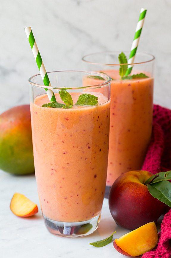 Healthy Peach Smoothie Recipe
