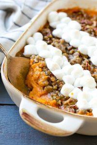 Sweet Potato Casserole with Marshmallows Recipe