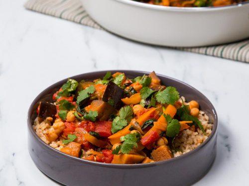 thai coconut vegetable curry recipe