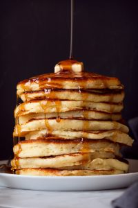 Soft and Fluffy Buttermilk Pancakes Recipe