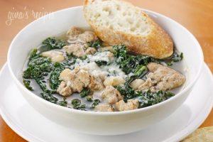 Turkey Sausage, Kale and White Bean Soup Recipe