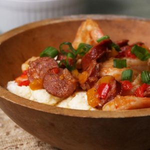 Shrimp, Sausage, And Grits Recipe