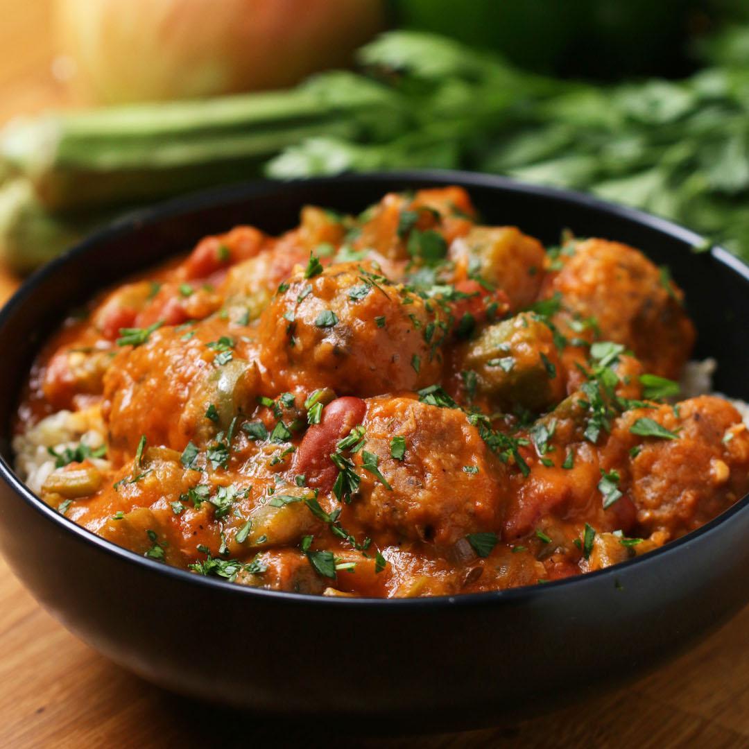Homemade Vegetarian Gumbo Recipe