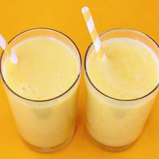 Tropical Coconut Banana Pineapple Smoothie Recipe