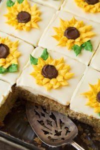 Zucchini Cake with Cream Cheese Frosting Recipe