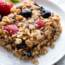 One Bowl Baked Oatmeal Recipe