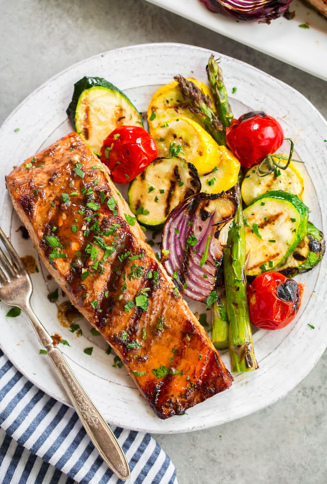 The Best Grilled Salmon Recipe