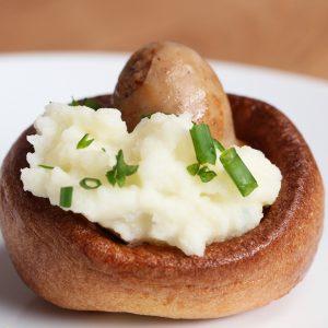 Bangers & Mash Yorkshire Pudding Recipe