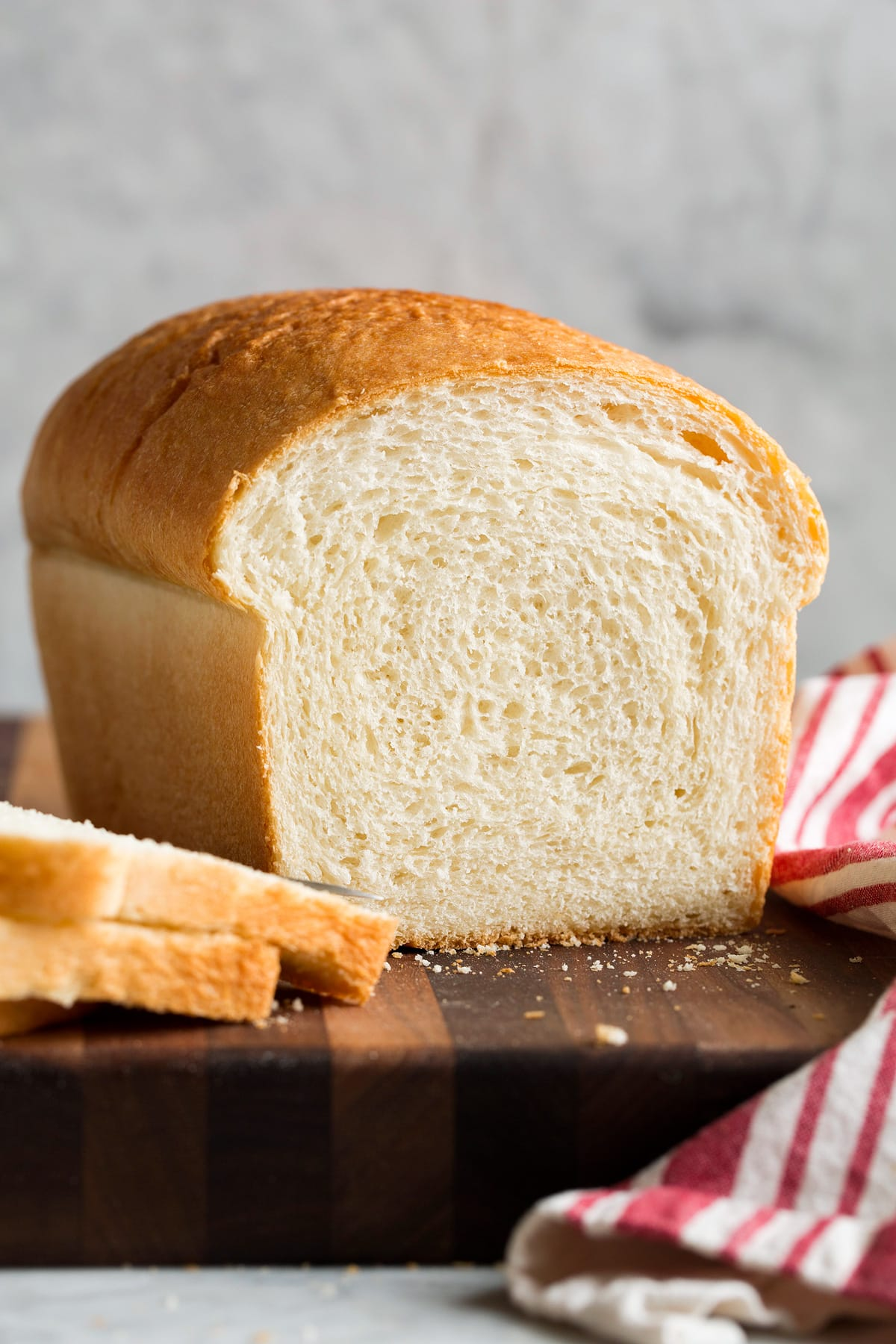 Basic Homemade White Bread Recipe