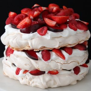 Berries And Cream Cloud Cake Recipe