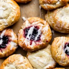 Breakfast Pastries with Shortcut Homemade Dough Recipe