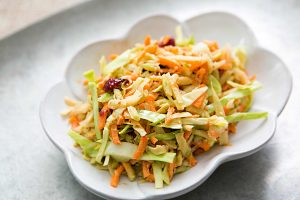 Broccoli Slaw with Orange Dressing Recipe