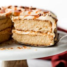 Burnt Sugar Caramel Cake Recipe