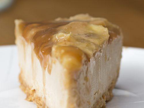 caramelized banana peanut butter cheesecake recipe