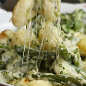 Cheesy Broccoli Gnocchi Recipe