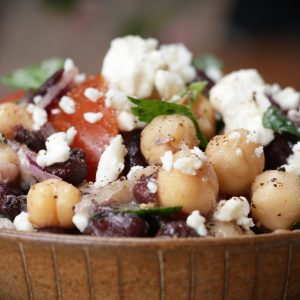Chickpea and Black Bean Salad Recipe