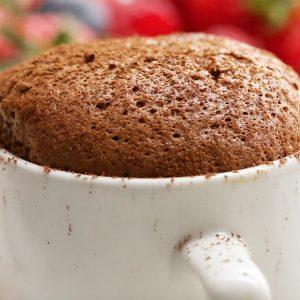 Chocolate Espresso Soufflés Recipe