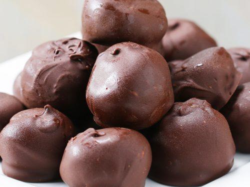 chocolate peanut butter oat balls recipe