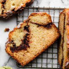 Cinnamon Swirl Quick Bread Recipe