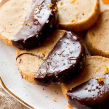 Dark Chocolate Orange Cookies Recipe