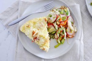 Easy Breakfast Casserole with Prosciutto Recipe