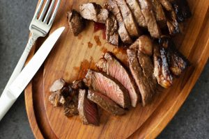 Broiled Marinated Steak Recipe