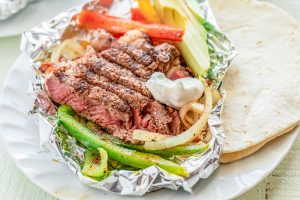 Easy Grilled Steak Fajitas Recipe