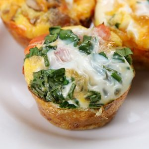 Easy Omelette Cups Recipe