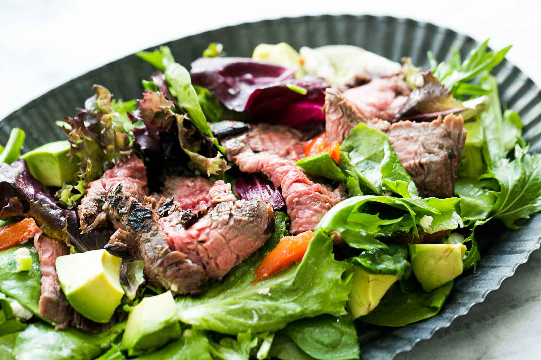 Steak Salad With Lemon Vinaigrette Recipe