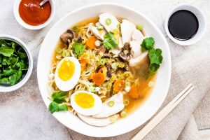 Homemade Chicken Ramen Recipe