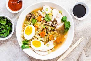 Homemade Chicken Ramen Recipe