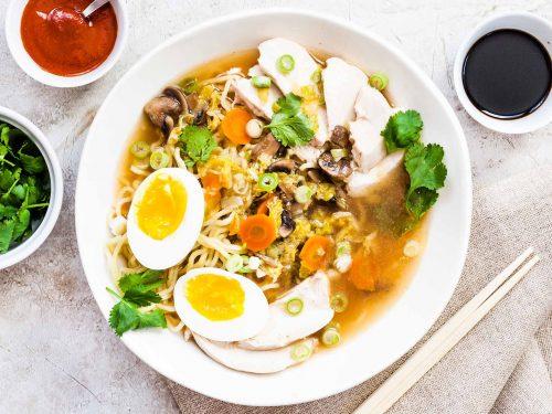 easy weeknight chicken ramen recipe