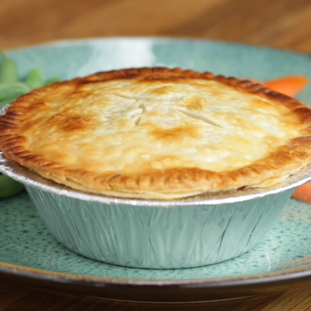 Freeze and Bake Chicken Pot Pies Recipe