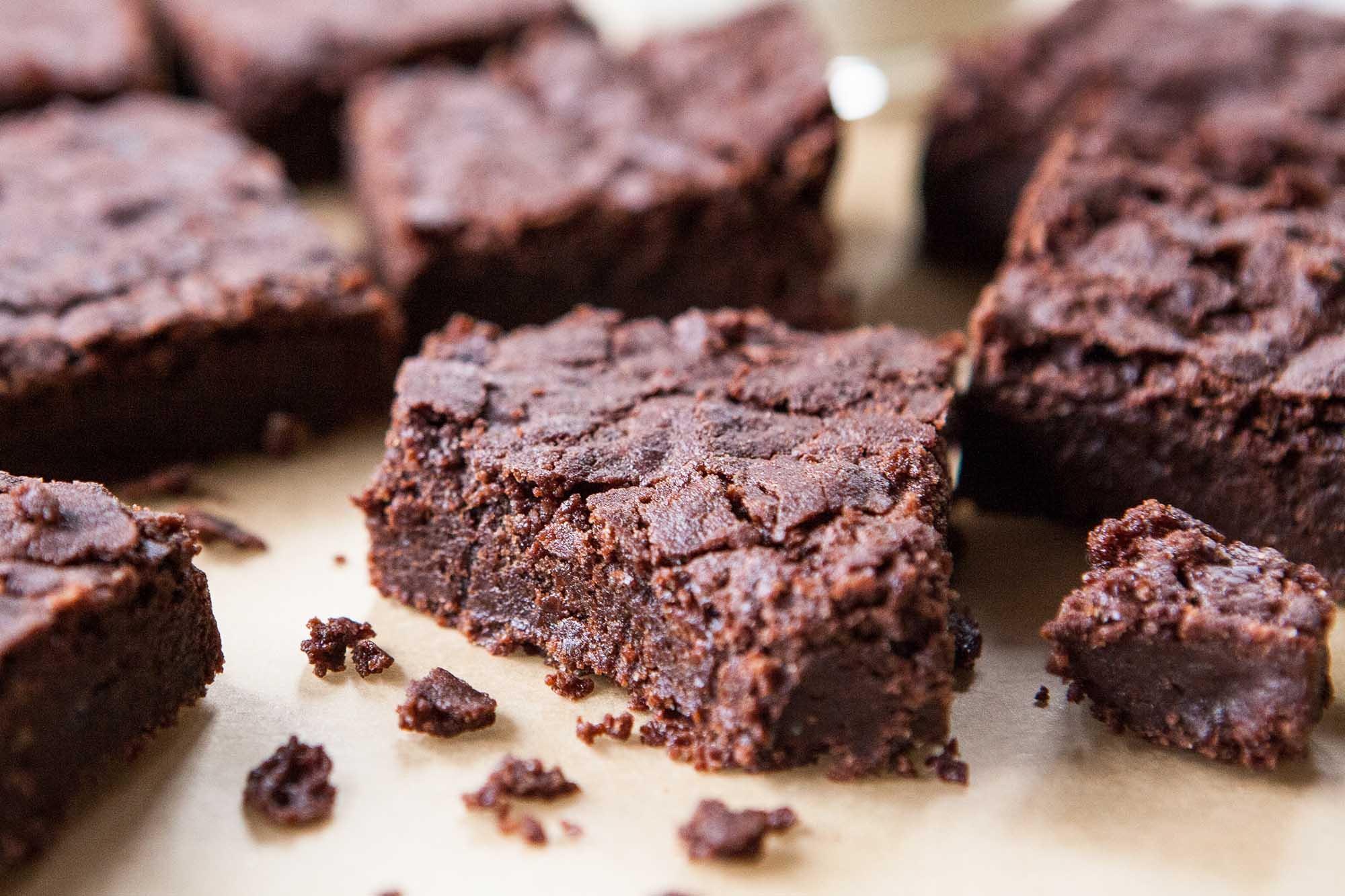 Fudgy Gluten-Free Chocolate Brownies Recipe