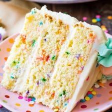 funfetti layer cake recipe