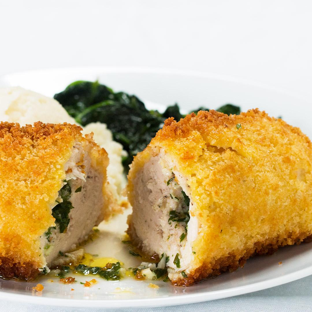 Garlic Butter-Stuffed Chicken Recipe