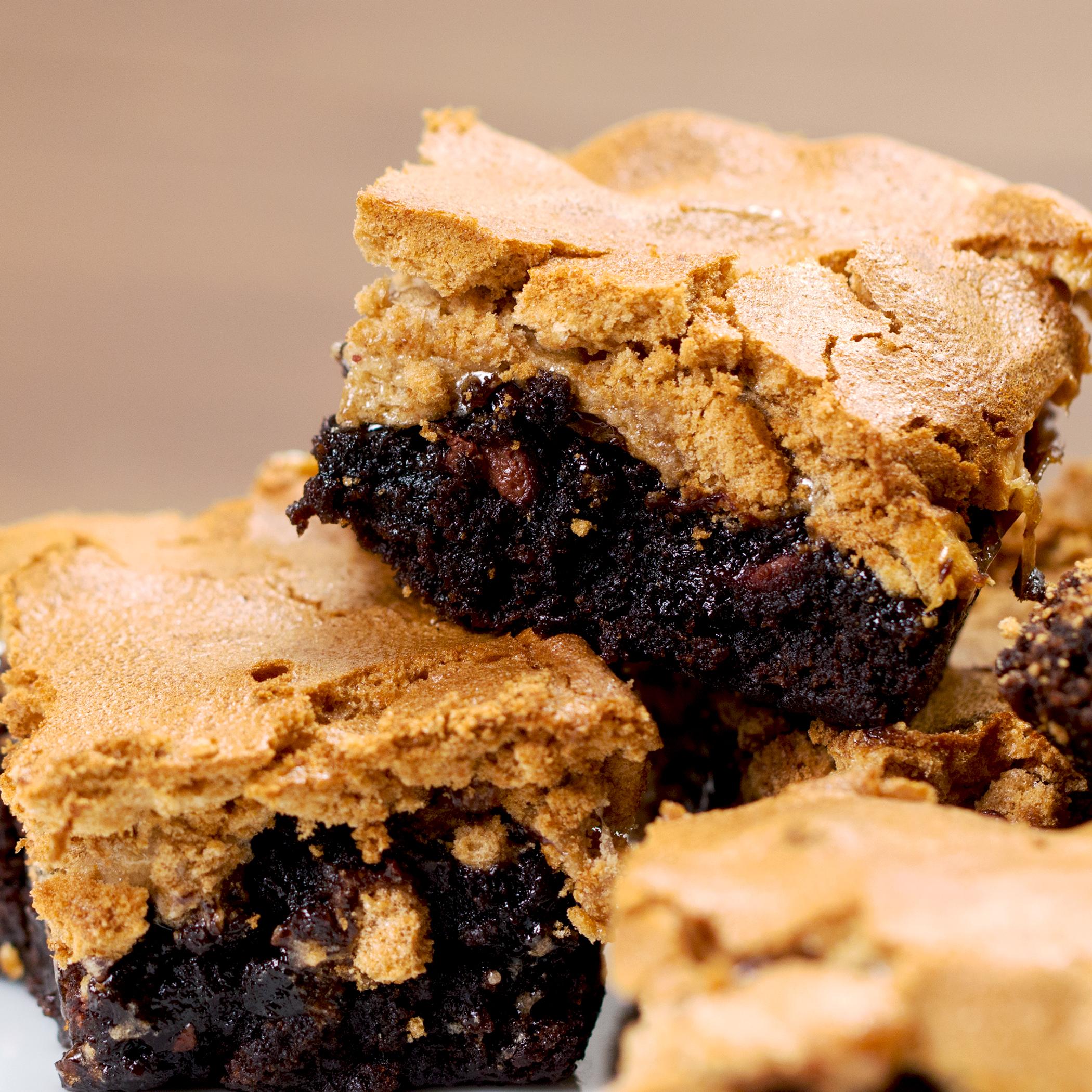 Gooey Brownie Mud Hen Bars Recipe