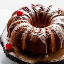 Homemade Butter Rum Cake Recipe