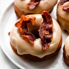 Homemade Maple Bacon Doughnuts Recipe