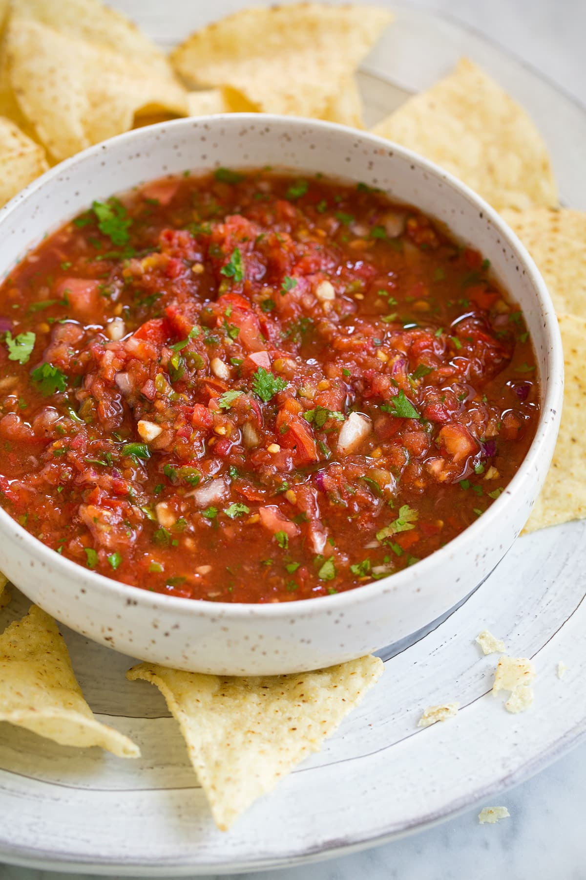 Homemade Chips and Salsa Recipe