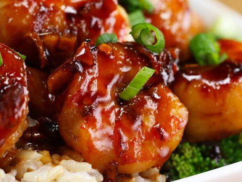 honey garlic shrimp stir-fry recipe