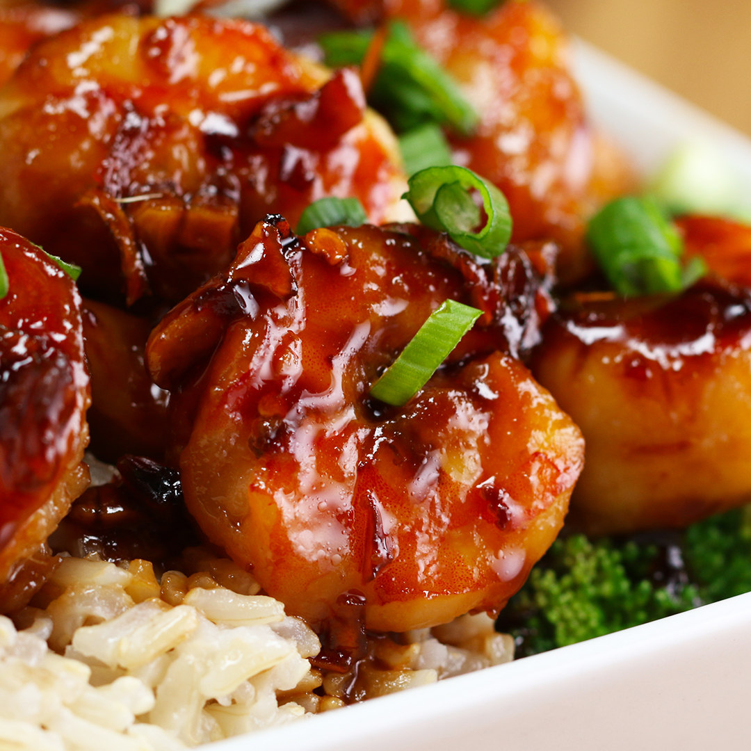 Stir-Fry Honey Garlic Shrimp Recipe