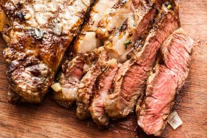 Grilled Steak With Herb Butter Sauce Recipe